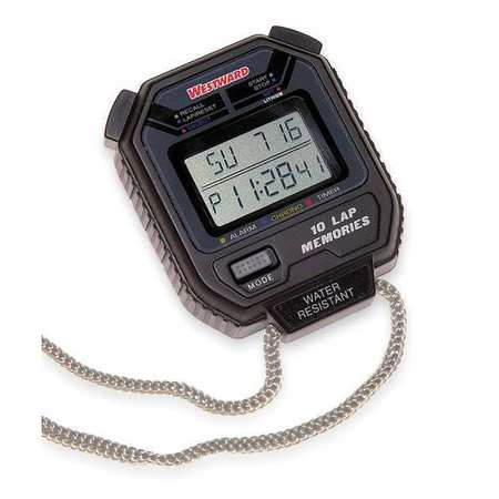 Digital Stopwatch, Multiline LCD