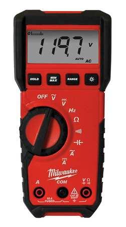 Digital Multimeter, 600V, 10A, 40 MOhms