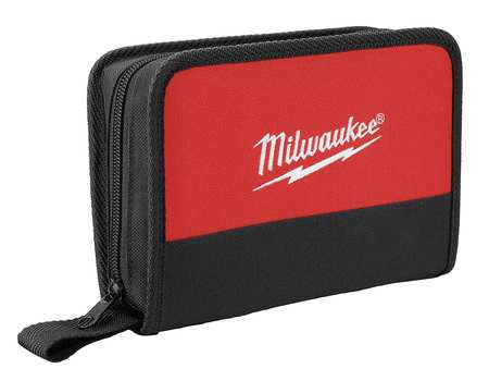 Carrying Case, Nylon, Black/Red