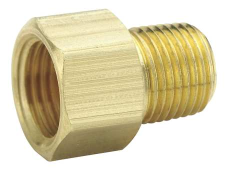 "1/4"" MNPS x 5/16"" Flare Brass Connector 10PK"
