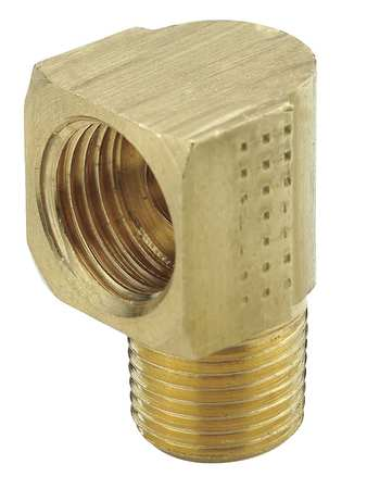 "1/4"" Flare x MNPS Brass 90 Degree Elbow 10PK"
