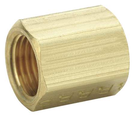 "1/4"" Inverted Flare x MNPS Brass Union 10PK"