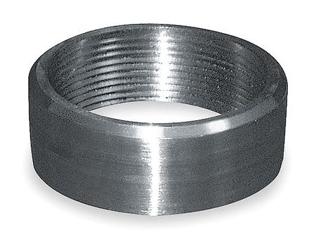 Half Coupling, 1/4 In, Threaded, 316 SS
