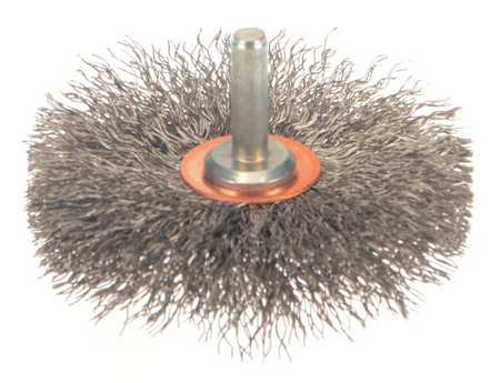 "Conflex Wire Brush,  3"",  1"" W,  0.0118"""