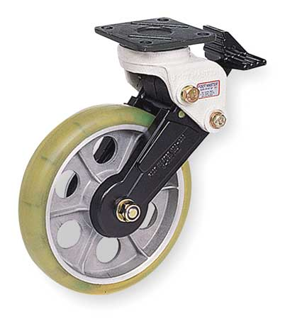 Swivel Plate Shock-Absorbing Cstr, 550 lb
