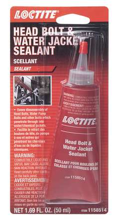 Sealant, 50mL, Tube, Black, -65 to 300F