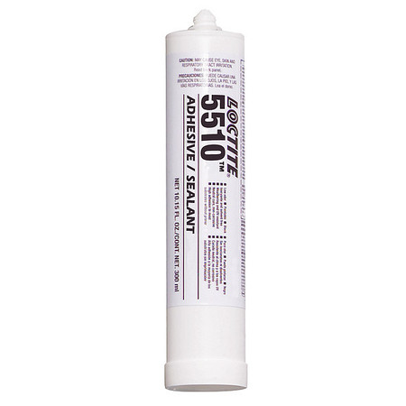 Adhesive Sealant, 1-Part, White, 300mL Cart