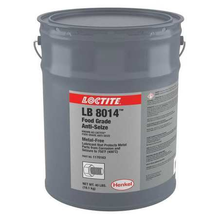 Anti-Seize, Food Grade, 5 gal, Pail