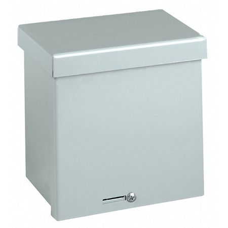 Junc Box Enclsr, Mtlic, 6In.Hx 6In.Wx4In.D