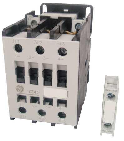 IEC Magnetic Contactor, 208VAC, 34A, 1NO, 3P