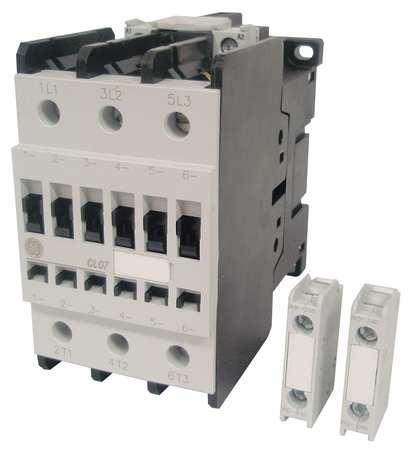 IEC Magnetic Contactr, 208VAC, 62A, 1NC/1NO