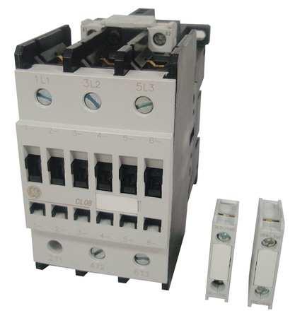 IEC Magnetc Cntactr, 24VAC, 80A, 1NC/1NO