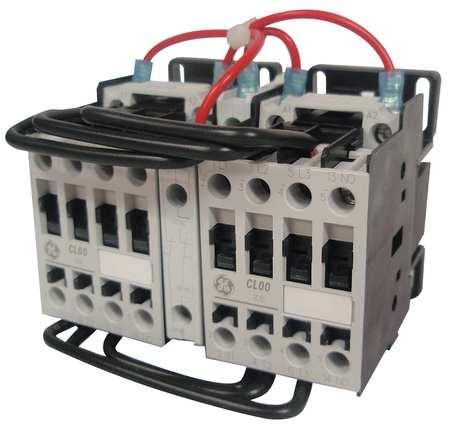 IEC Magnetic Cntactr, 208VAC, 17A, Revrsing