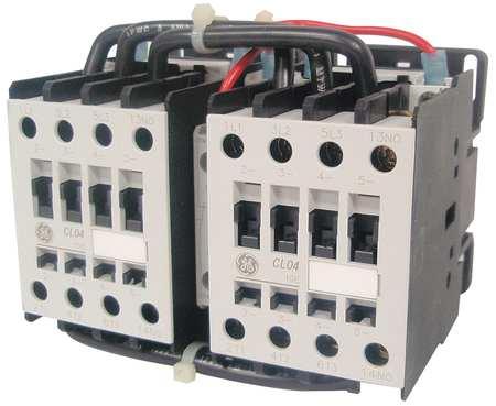 IEC Magnetic Cntactr, 120VAC, 22A, Revrsing