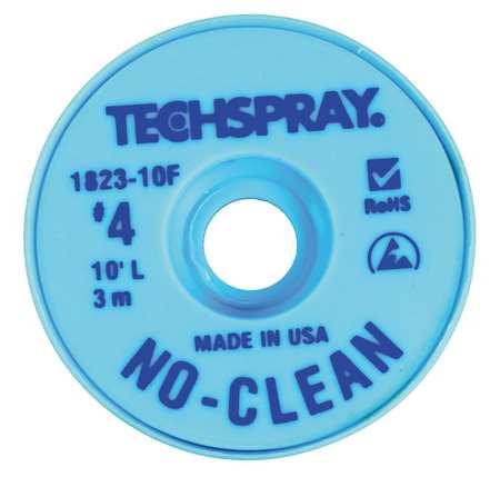 No-Clean Blue #4 Braid - AS