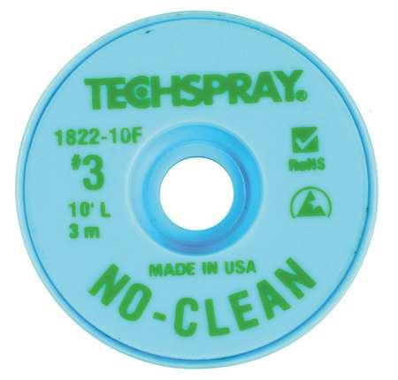 No-Clean Green #3 Braid