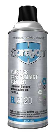 SPRAYON 12 oz. Aerosol Can,  Contact Cleaner