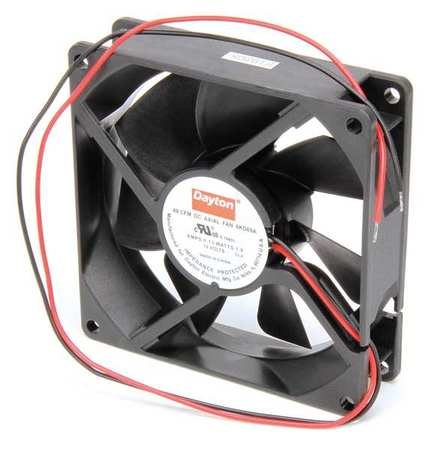 "3-5/8"" Square Axial Fan,  12VDC"
