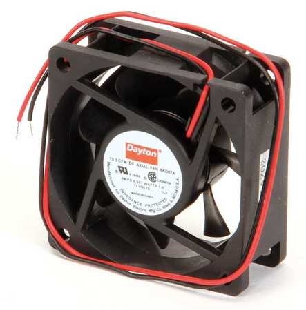 "2-3/8"" Square Axial Fan,  12VDC"