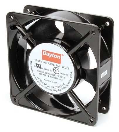 "4-11/16"" Square Axial Fan,  115VAC"