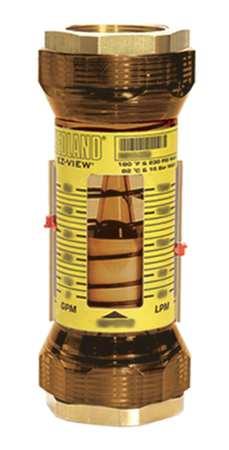Flowmeter,  2 FNPT,  10-100 GPM