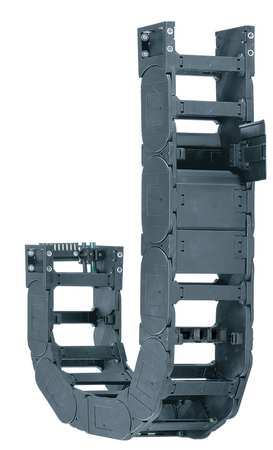 Cable Carrier, HD, Open, OW9.21In / 234mm