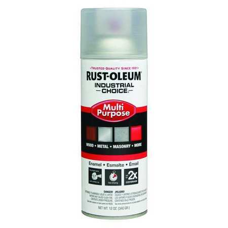 Spray Paint, Crystal Clear, 12 oz.