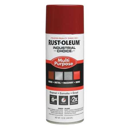 Industrial Choice ™ Spray Paint, Banner Red, 12 oz.