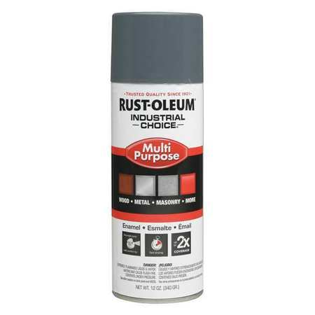 Spray Paint, Universal Gray, 12 oz.