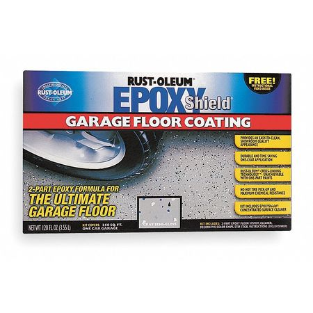 Garage Floor Kit, 120 fl. Oz., Gray