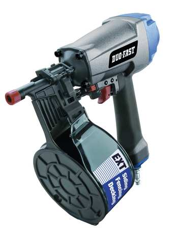 Air Siding Nailer, Full Rnd, 0 Deg, Plastic