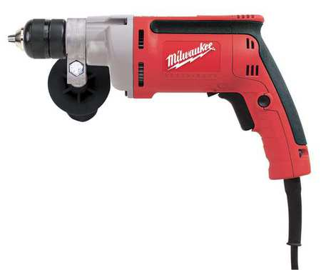 Electric Drill, 3/8 In, 0 to 2500 rpm, 7.0A