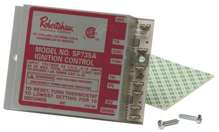 Spark Ignition Control, Lockout