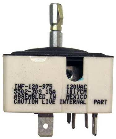 Elec Cook Control, Repl INF-120-975