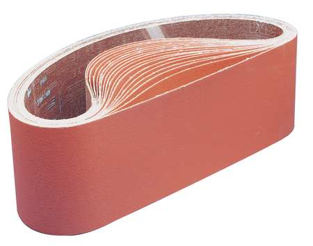 Sanding Belt, 3.5 In Wx15.5 In L, CA, 120G