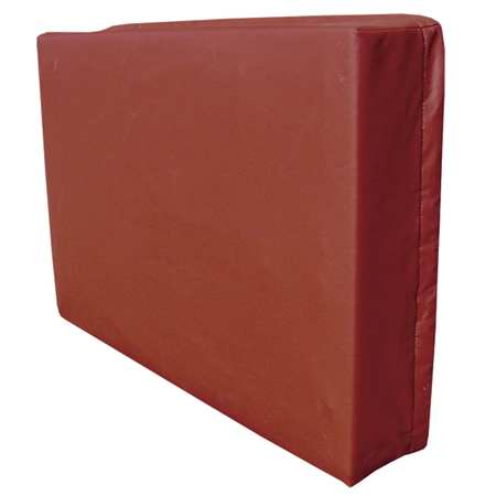 Exterior AC Cover, Fleece/Vinyl, Brick