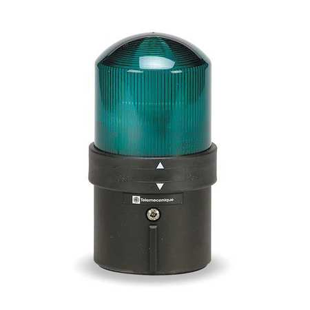 Warning Light, LED, Green, 48 to 230VAC