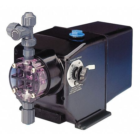 Diaphragm Metering Pump, 40 GPD, 125 PSI