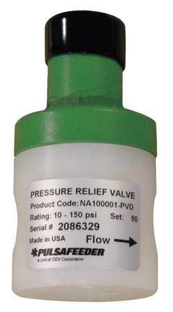 Valve, Pressure Relief, GPM 15, PVDF