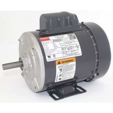 GP Mtr, CS, TEFC, 1/4 HP, 1140 rpm, 56
