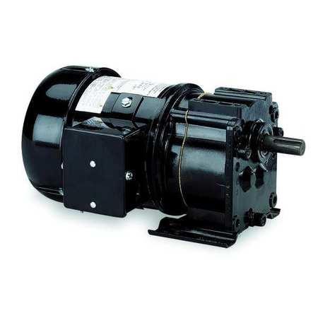 AC Gearmotor, 60 rpm, TEFC, 115V
