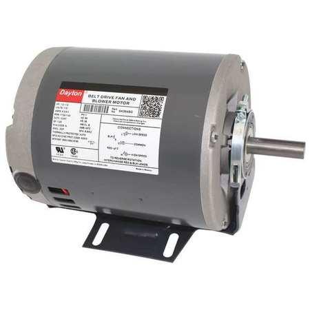 Motor, 1/2,  1/4 HP, 1725/1140 RPM, 115 V