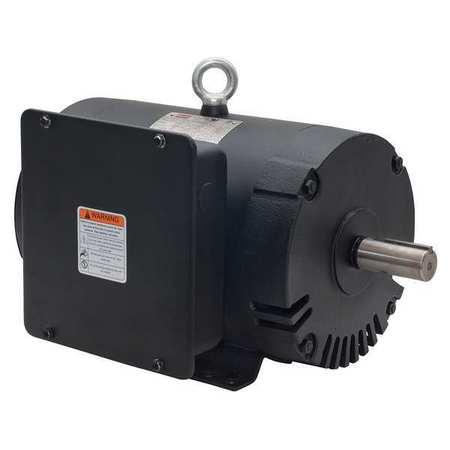 AirCompr Motor, 5 HP, 1740, 208-230V, 182/4T