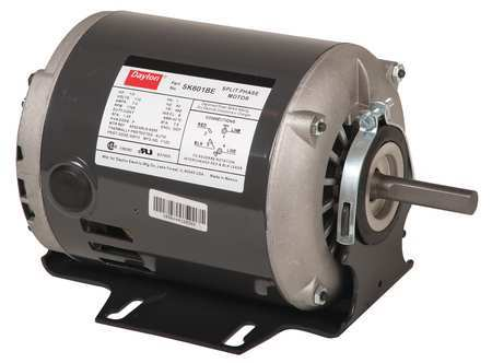 GP Mtr, Split Ph, ODP, 1/2 HP, 3450 rpm, 48