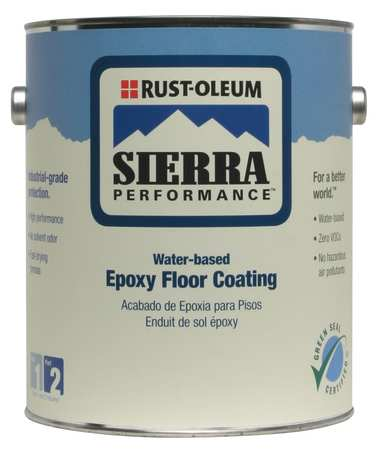 S40 Epoxy Floor Coating, Clear, 1 gal.