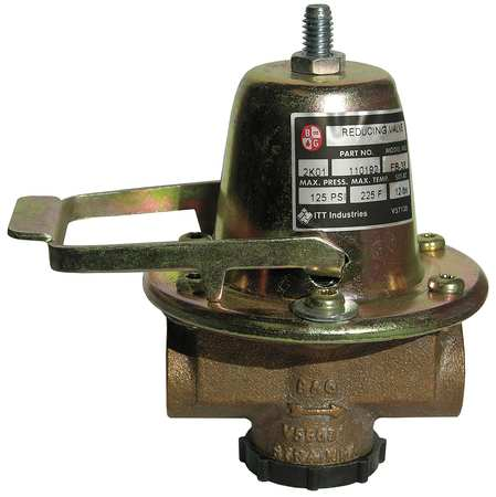 Water Pressure Reducing Valve, 1/2 In.