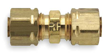"1/4"" x 3/16"" Compression Brass Union 10PK"