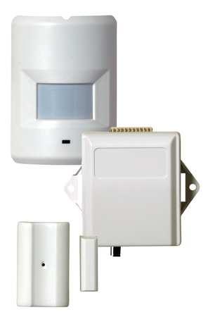 Occupancy Sensor Kit,  Wireless,  White