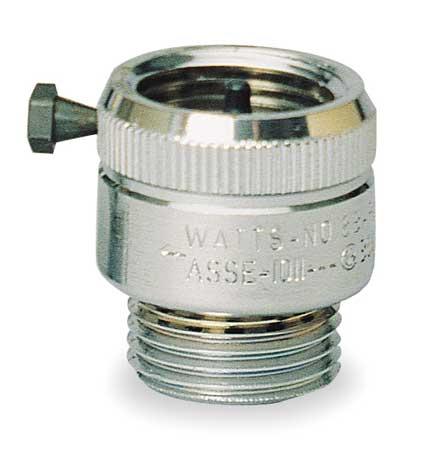 Vacuum Breaker, 3/4 In., GHT, 125 psi