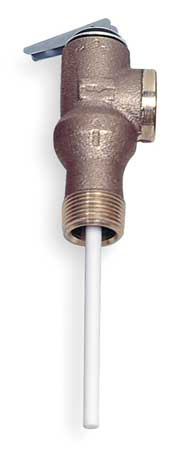 T and P Relief Valve, 3/4 In. Outlet